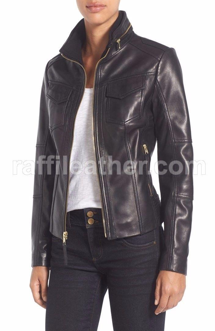 Jaket Kulit Wanita » Jaket Kulit Wanita RFW 255 • www.raffileather.com Jual Jaket Kulit Asli Garut Murah & Berkualitas