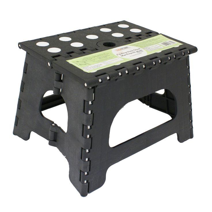 1-Step Plastic Folding Step Stool with 300 lb Load Capacity  sc 1 st  Pinterest & Best 25+ Plastic step stool ideas on Pinterest | 3 step stool ... islam-shia.org