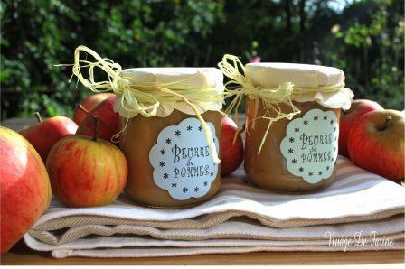 Beurre de pommes à l'érable | Nuage De Farine