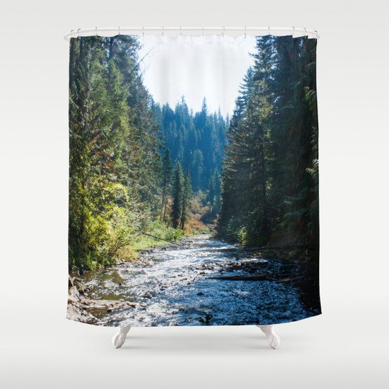 Tree Shower Curtain Unique Shower Curtain by GriffingHomeDecor  -- Artist designed and produced by www.DigiColorCreations.com