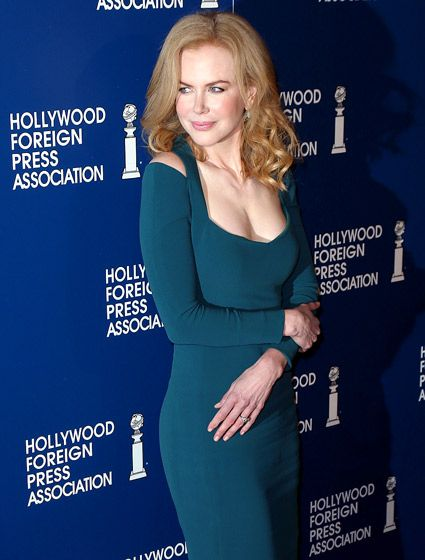 Nicole Kidman rocked a bombshell look at the Hollywood Foreign Press Association's 2013 Installation Luncheon at The Beverly Hilton Hotel August 13.