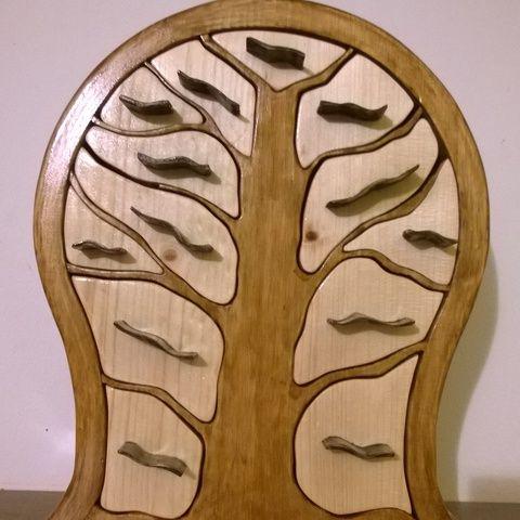 Meska - Ékszertartó 13 fiókos tomawoodworks kézművestől