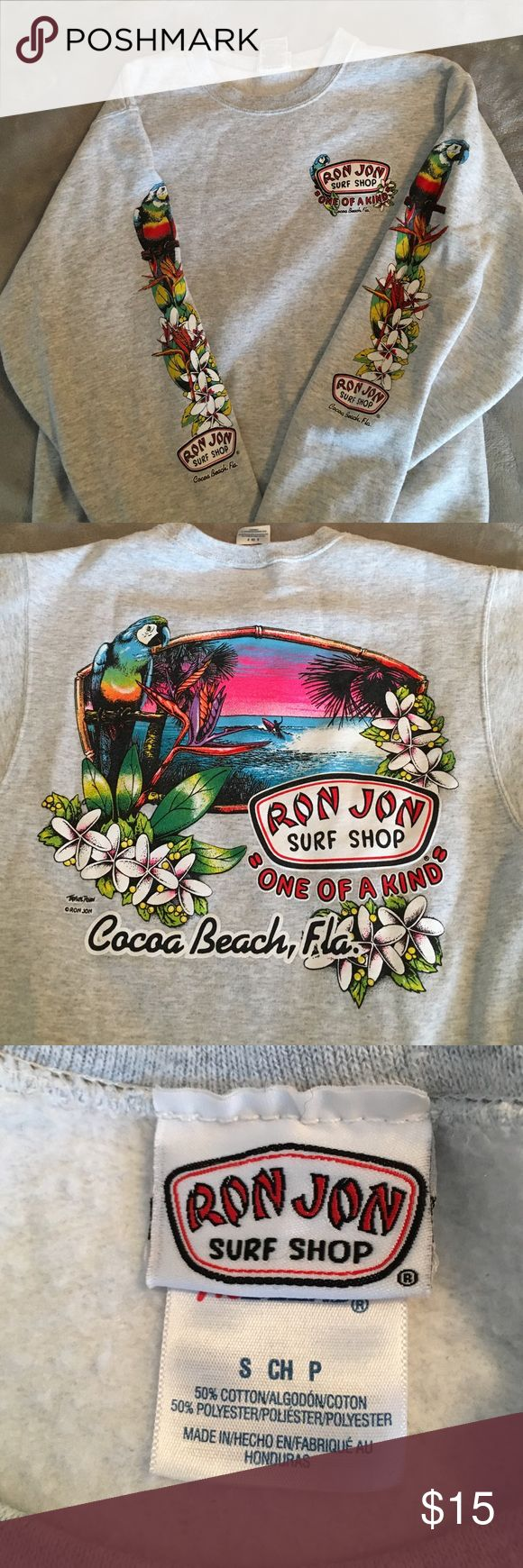 Authentic Ron Jon surf shop crewneck size small Crewneck from Cocoa Beach Florida Ron Jon Tops Sweatshirts & Hoodies