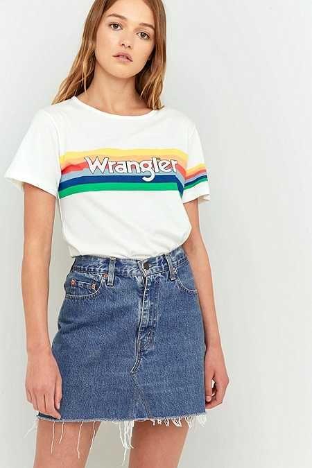 Wrangler Rainbow Graphic T-Shirt
