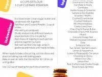 Freezable Cookies Recipe - Printable