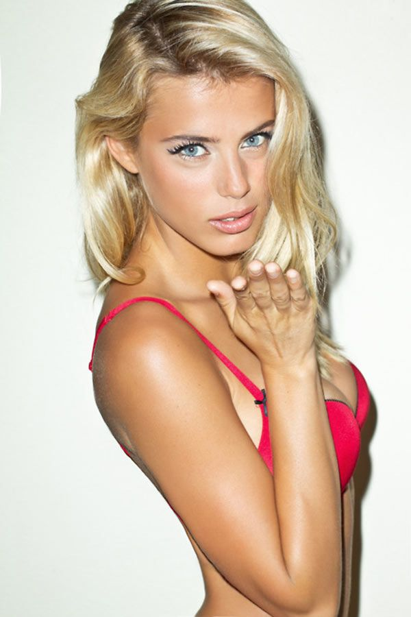 Really hot blonde
