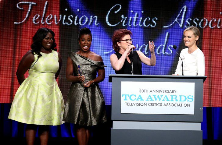 Pin for Later: The McConaissance Continues at the Star-Studded TCA Awards  Danielle Brooks, Uzo Aduba, Kate Mulgrew, and Taylor Schilling showed us how they look when they're not filming Orange Is the New Black.