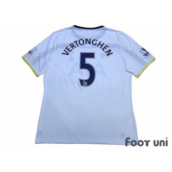 Photo2: Tottenham Hotspur 2014-2015 Home Shirt #5 Vertonghen BARCLAYS PREMIER LEAGUE Patch/Badge UNDER ARMOUR - Football Shirts,Soccer Jerseys,Vintage Classic Retro - Online Store From Footuni Japan