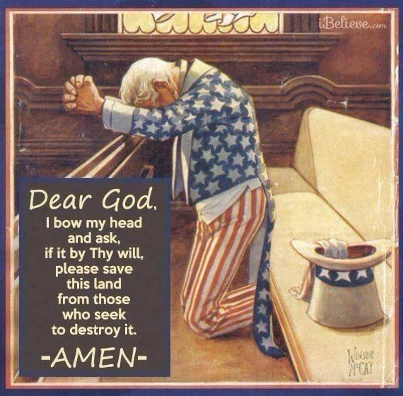 Good Night Friends We Know Thy Enemy Prayers That We Unite We Are One Nation Under God