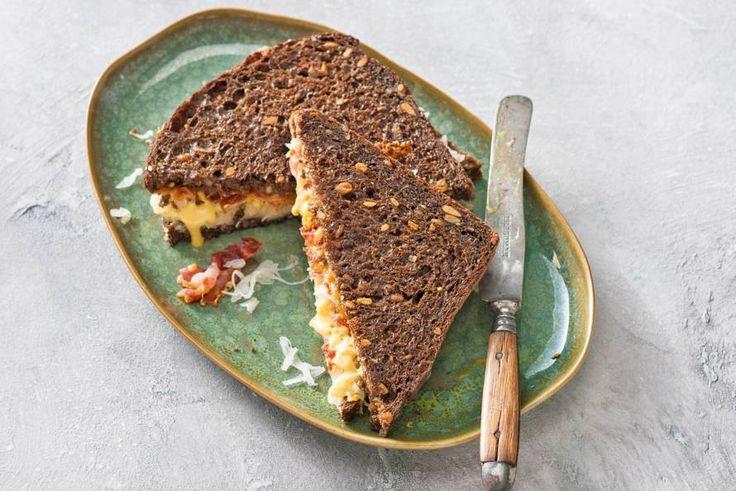 Zuurkool op je tosti is zeker het proberen waard! - Recept - Allerhande