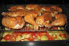 Hähnchenschenkel mit Ofen - Schmand - Gemüse, ein tolles Rezept aus der Kategorie Geflügel. Bewertungen: 257. Durchschnitt: Ø 4,5.
