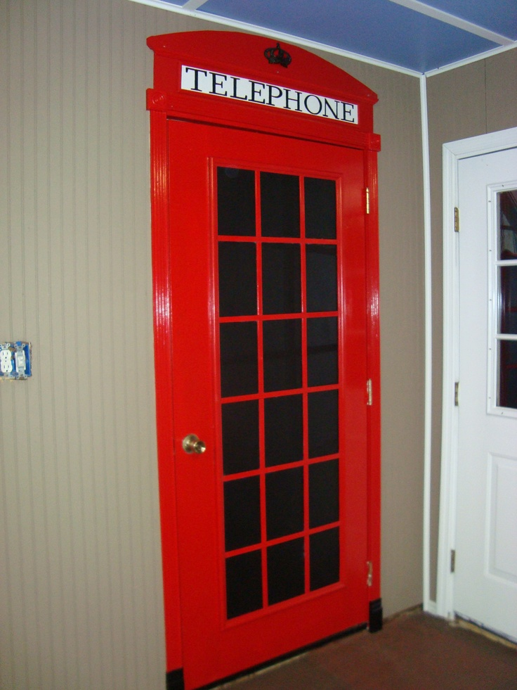 You ll need your own red phone box door Mycroft might