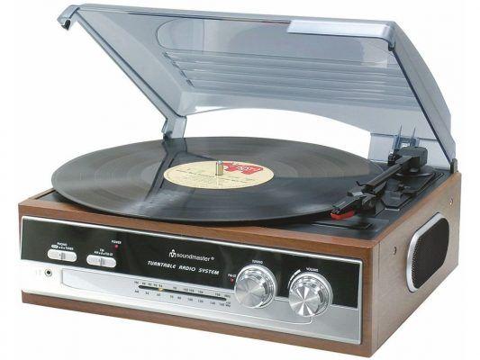 Soundmaster PL186H Reproductor vinilos (AM/FM, estéreo, 33/45/78 rpm) por 50,53 €  Un plato #giradiscos de los antiguos, que conserva la línea #retro de los años 60 y 70 en una pieza que mantiene la #elegancia y la forma de construir equipos de aquella #época.   #chollos #mp3 #musica #retro