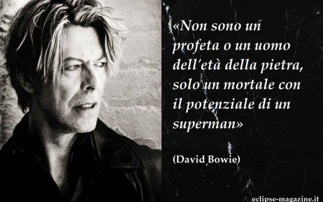 """Aforisma di oggi, 20 Giugno: David Bowie Per la rubrica di Eclipse Magazine """"Aforisma del giorno"""" oggi vi proponiamo una frase di Davi Bowie, estrapolata da un'intervista. David Bowie, recentemente scomparso, è stato un famosissimo cantauto #aforisma #aforismi #davidbowie"""