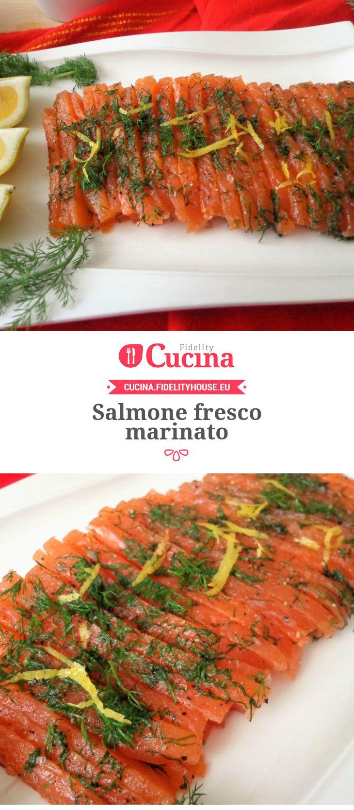 Salmone fresco marinato della nostra utente Magdalena. Unisciti alla nostra Community ed invia le tue ricette!