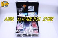 La mejor calidad Herramienta Falso maquillaje Extensión de pestañas caso completo kit determinado envío gratuito