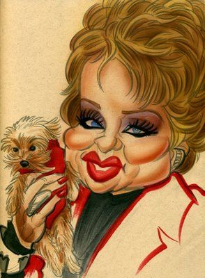 Tammy Faye Baker (by Zack Wallenfang)  ..FOLLOW THIS BOARD FOR GREAT CARICATURES OR ANY OF OUR OTHER CARICATURE BOARDS. WE HAVE A FEW SEPERATED BY THINGS LIKE ACTORS, MUSICIANS, POLITICS. SPORTS AND MORE...CHECK 'EM OUT!!