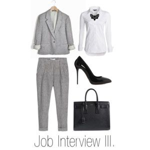 """Job Interview III."" by stehlikova-alice on Polyvore"