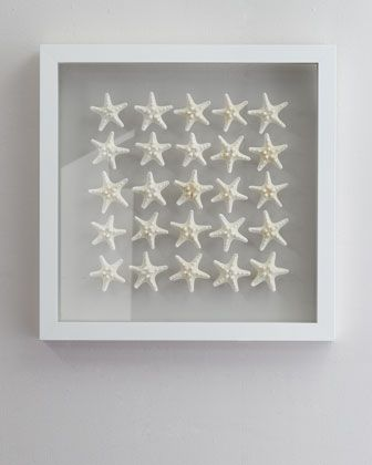 """""""Knobby Starfish"""" Wall Decor by Karen Robertson Collection at Horchow."""