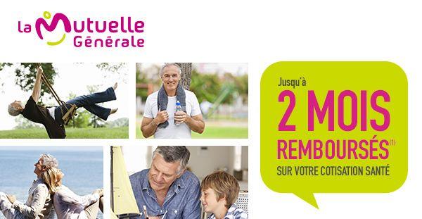 JUSQU'À 2 MOIS REMBOURSÉS(1) SUR VOTRE COTISATION SANTÉ