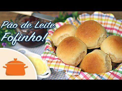 Pão de Leite Fofinho - YouTube Coloque no liquidificador (adoooro): 250 ml de leite morno, se colocar quente estraga o pão, tem que ser uma temperatura que você coloque o dedo e não sinta nenhum desconforto (usei semidesnatado); 2 ovos; 2 colheres (sopa) de açúcar; 1/2 colher (sopa) de sal; 5 gramas, ou ½ pacotinho de fermento biológico seco granulado; 40ml de óleo de soja; 1 colher rasa (sopa) de margarina (usei light). Bata só para misturar, despeje em uma vasilha grande e vá…