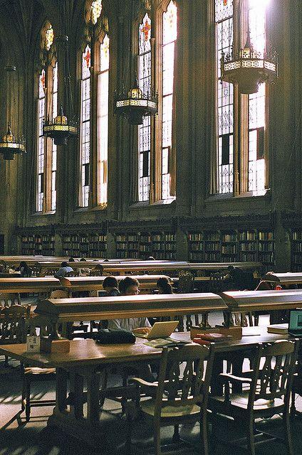 University Of Washington Library Interior By Herr Hans Gruber