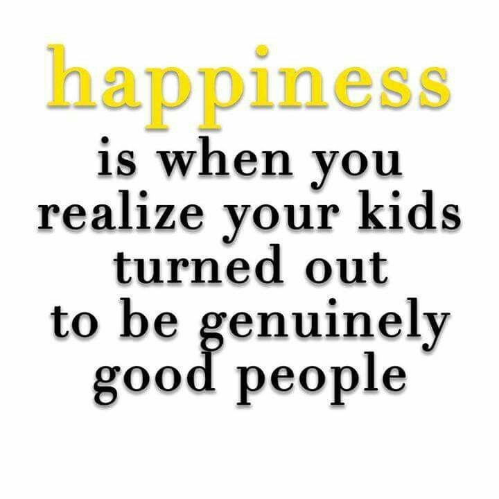 Even though people think we are bad parents, our kids are freaking amazing human beings!  We are so proud of them