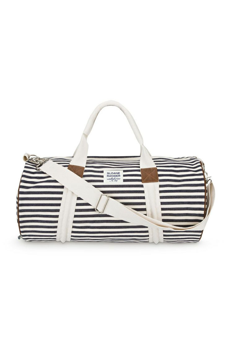 Stripes Weekender Bag