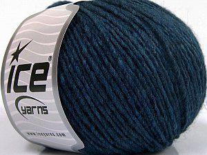 Wool Cord Aran Blue Shades  Fiber Content 50% Wool, 50% Acrylic, Brand Ice Yarns, Blue Shades, fnt2-53619