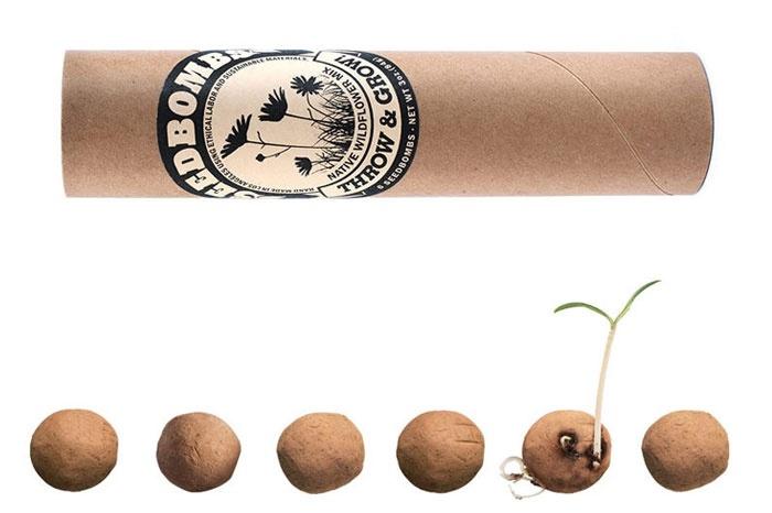 argile compost et 500 graines bombes de semences lancer pour faire pousser atelier au. Black Bedroom Furniture Sets. Home Design Ideas