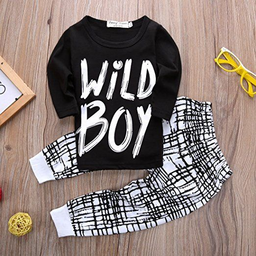 wild boy outfit   Trendy Cheap Baby Clothes Online