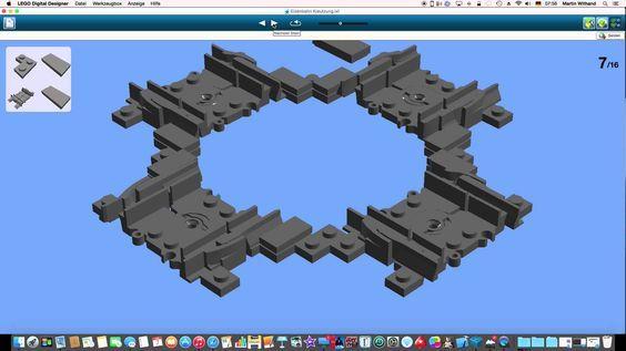 Lego City Eisenbahn Kreuzung selbst gebaut tutorial