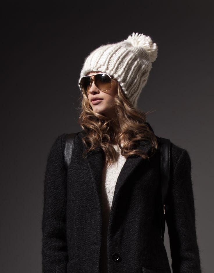 THE THIRD PIECE - F/W 14 // The Kendall - Knit Pom Hat // www.the3rdpiece.com
