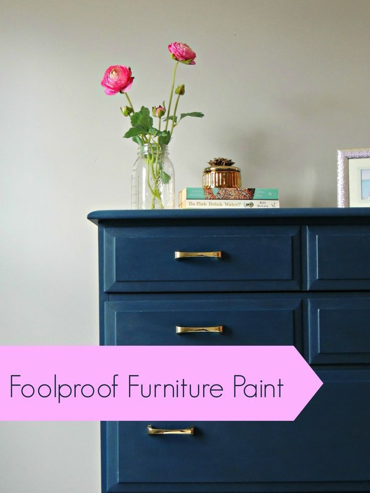 How To Paint Furniture Perfectly And Get Perfect Results