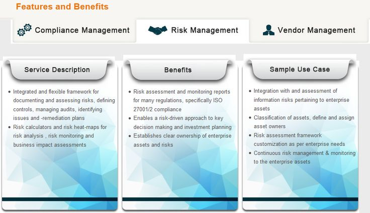 Compliance Vigil - Risk and Compliance Dashboards #cybersecurity - product risk assessment