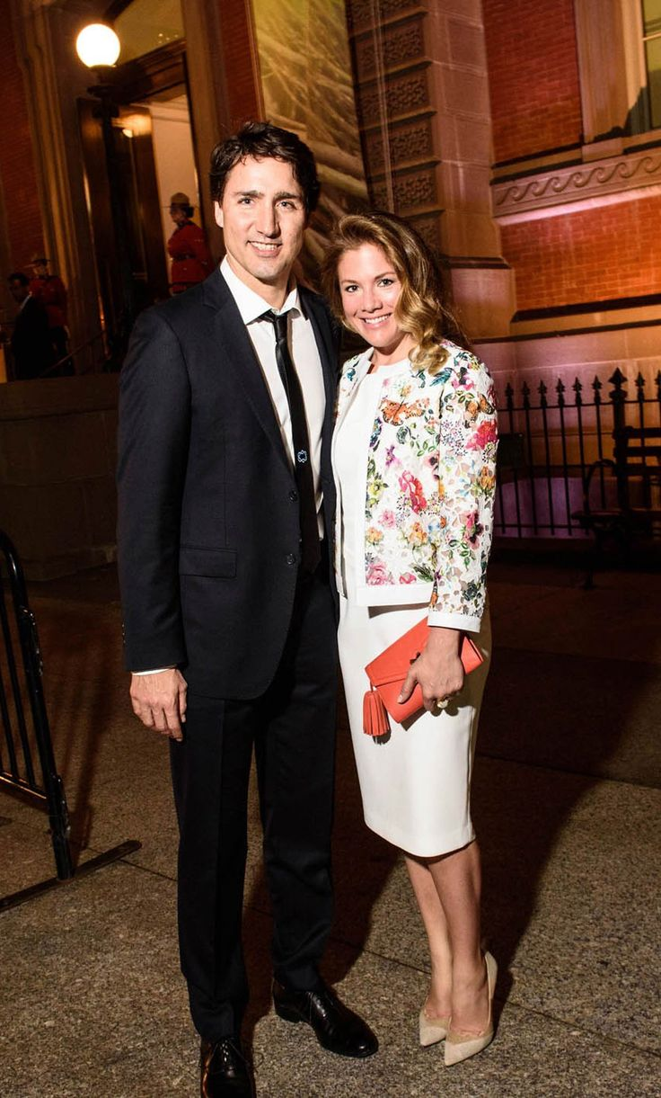 Sophie Grégoire-Trudeau Is Putting Canadian Designers on the Map - Judith & Charles sheath dress, Ellie Mae jacket