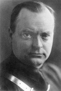 Anton Adriaan Mussert (May 11, 1894, Werkendam, North Brabant – May 7, 1946) was one of the founders of the National Socialist Movement (NSB) in the Netherlands and its de jure leader. As such, he was the most prominent national socialist in the Netherlands before and during the Second World War. During the war, he was able to keep this position, due to the support he received from the Germans. After the war, he was convicted and executed for high treason.