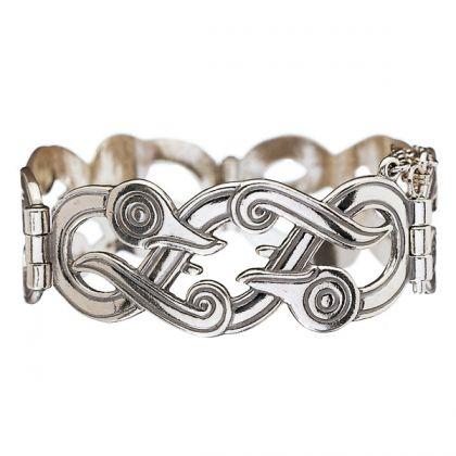 Kalevala Koru / Kalevala Jewelry / IKU-TURSO BRACELET / IKU-TURSO -RANNEKORU / Material: bronze or silver