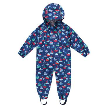 Perfect little splash suit for splashing in those muddy puddles  #pintowin #jojomamanbebe