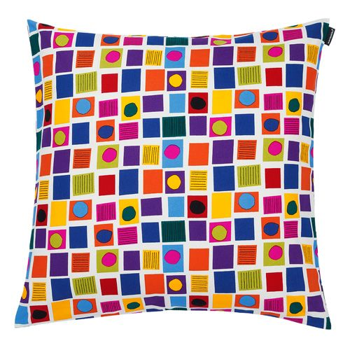 Marimekko Oliivi Multicolor Throw Pillow Chairs, Marimekko and Throw pillows