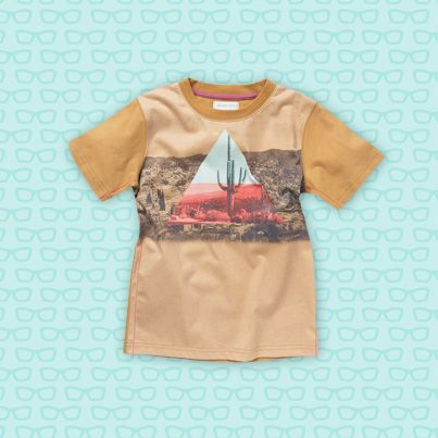 Pumpkin Patch Sublimation Printed Tee - 100% cotton, available in sizes 5 to 14 years http://www.pumpkinpatchkids.com/