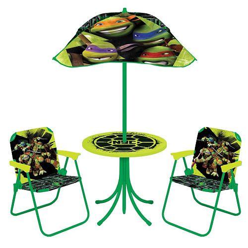 """Teenage Mutant Ninja Turtles Patio Set - Kids Only - Toys """"R"""" Us"""