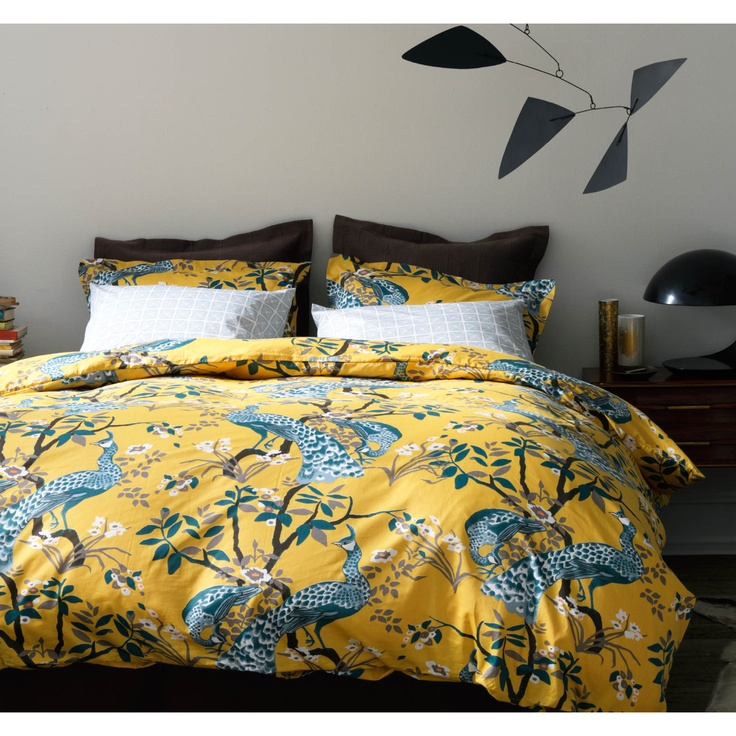 found it at allmodern peacock citrine duvet collection by dwell studio find this pin and more on bedding