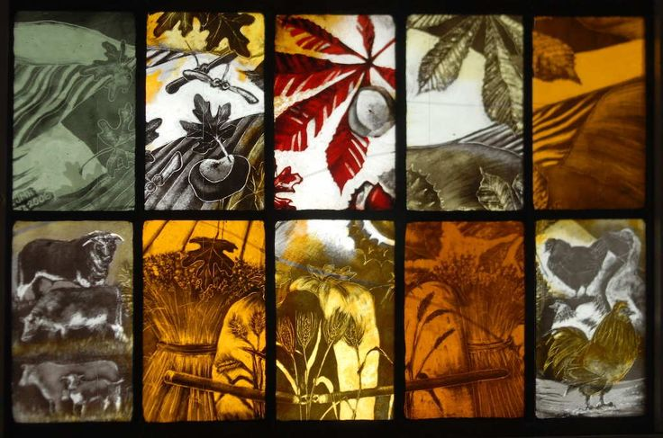Jackie Hunt - Stained glass and illustration