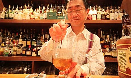 10 best bars and clubs in tokyo Hidetsugu Ueno at Bar High Five. Photograph: