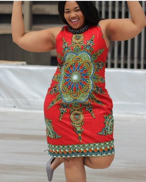 Online Hub For Fashion Beauty And Health Smart Ankara Short Gown Style For Pretty Plus Size