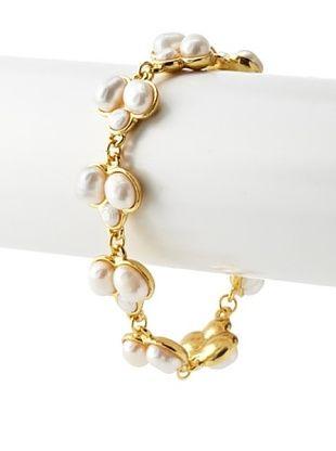 55% OFF Karine Sultan Faux Pearl Cluster Bracelet