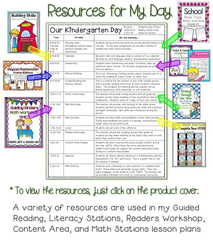 Best 25+ Kindergarten daily schedules ideas on Pinterest Daily - rotation schedule template
