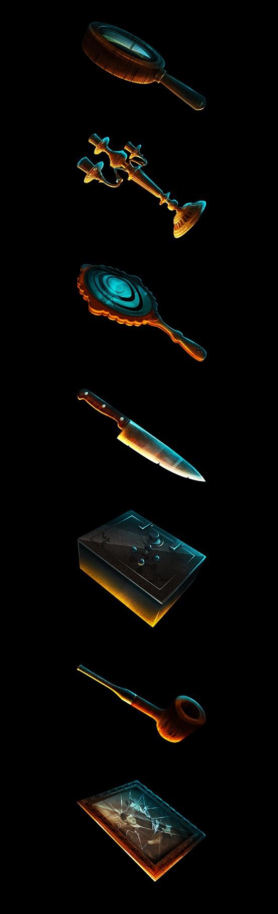 """""""Detective Blake"""" Slot Game by Mikibo Koxreidze, via Behance"""