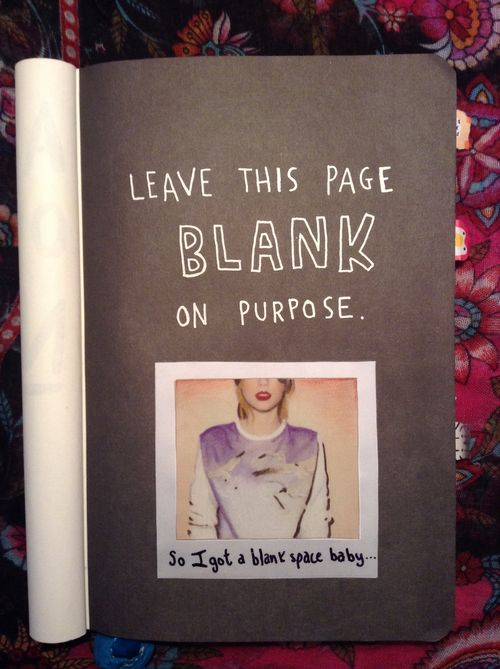 wreck this journal taylor swift - Google Search